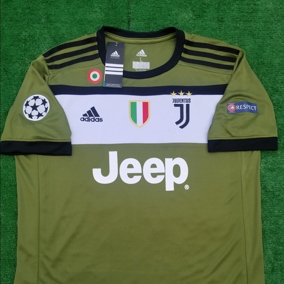 new products 0021c 86664 2017/18 Juventus 3rd kit soccer jersey Dybala NWT